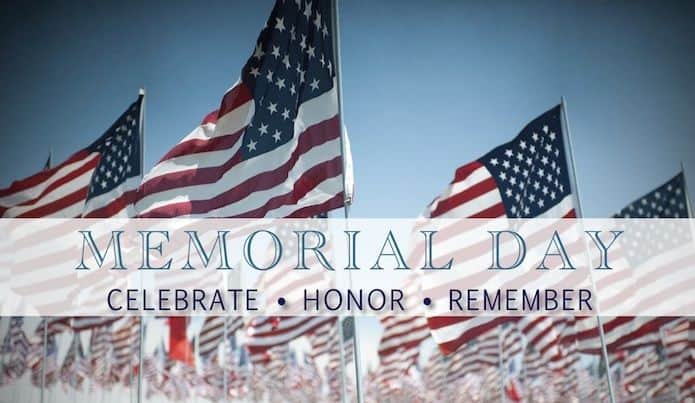 WOD May 29, 2017 – Memorial Day